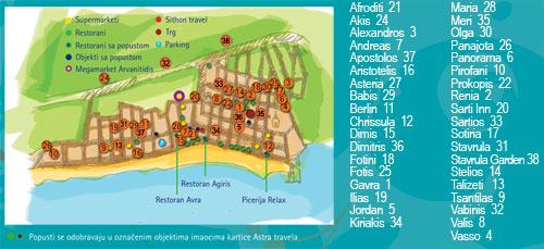 Mapa Sartija