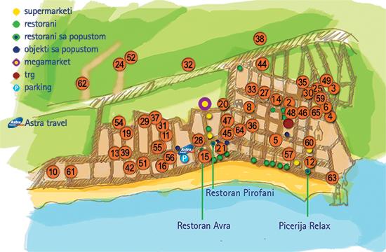 mapa sartija grcka Grcka Leto 2017   Sarti   Astra Travel – Letovanje 2017 – Leto 2017 mapa sartija grcka